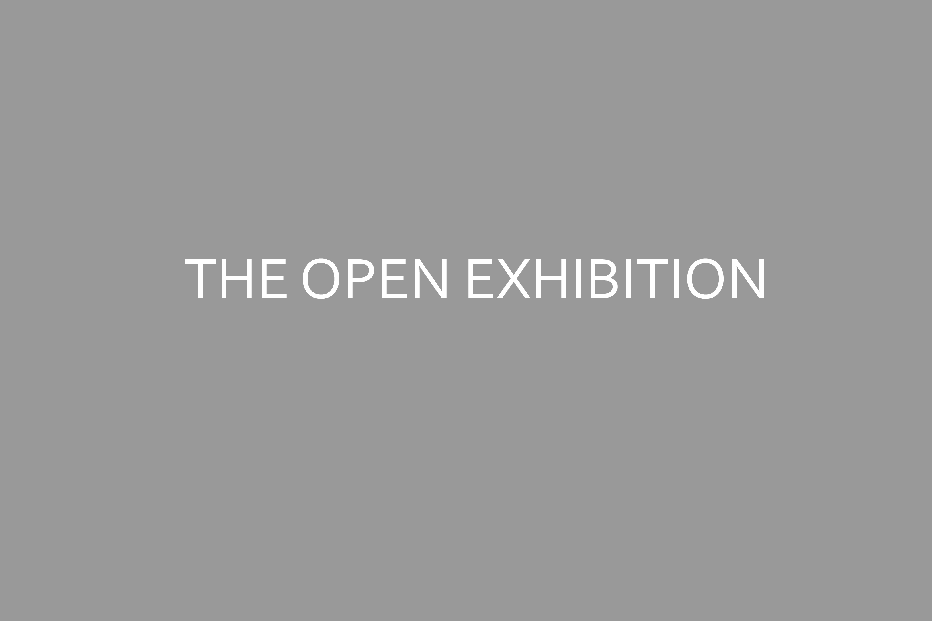 THE OPEN EXHIBITION