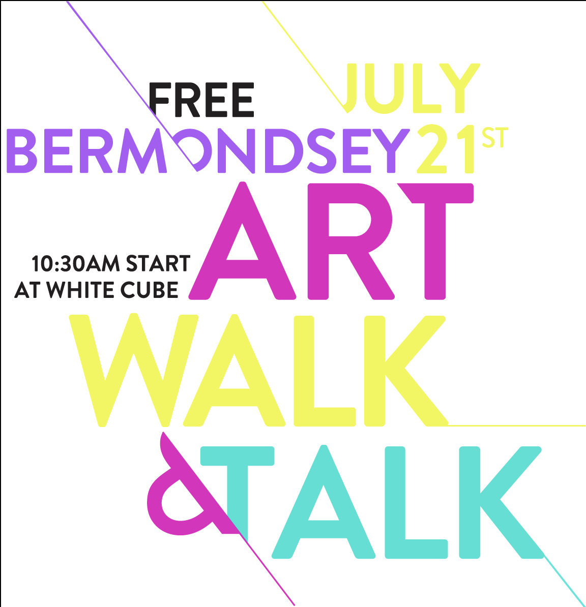 Bermondsey Art Walk & Talk