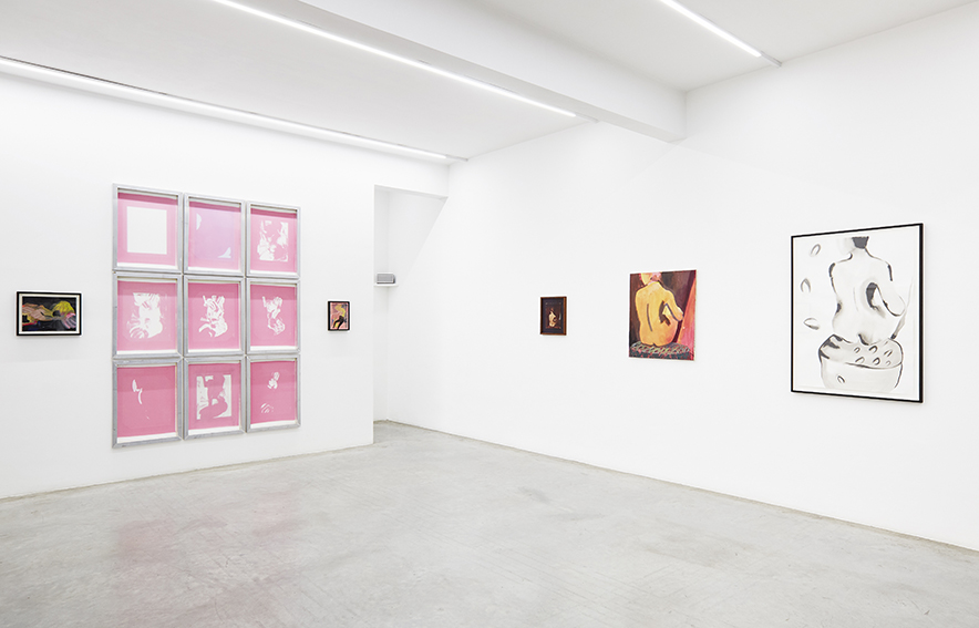 Install shots, Courtesy of Ronchini Gallery and Luke A Walker rel=
